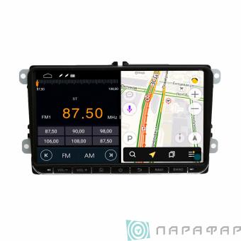 "Штатная магнитола Parafar для VW, Skoda, Seat экран 9"" на Android 8.1.0 (PF904LTX)"