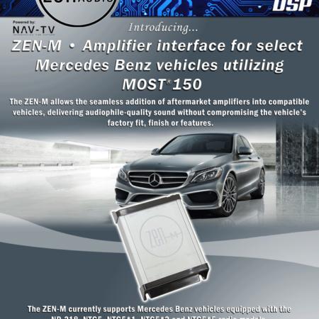 MOST-интерфейс NAV-TV ZEN-M для Mercedes
