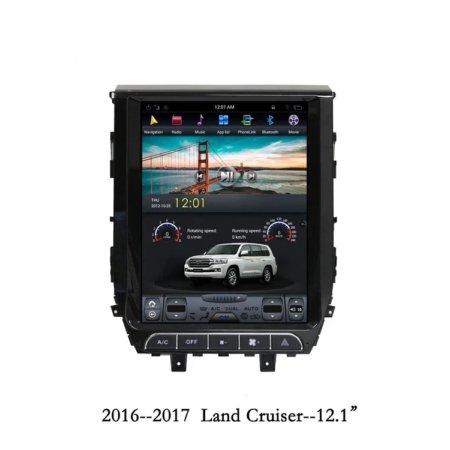 Штатная магнитола Carmedia ZF-1205-DSP для Toyota Land Cruiser 200 2015+