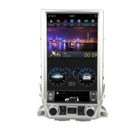 Штатная магнитола Carmedia ZF-1829L-DSP для Toyota Land Cruiser 200 2015+